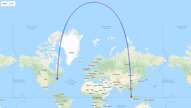 Einmal um die halbe Welt – nonstop - Mobility360