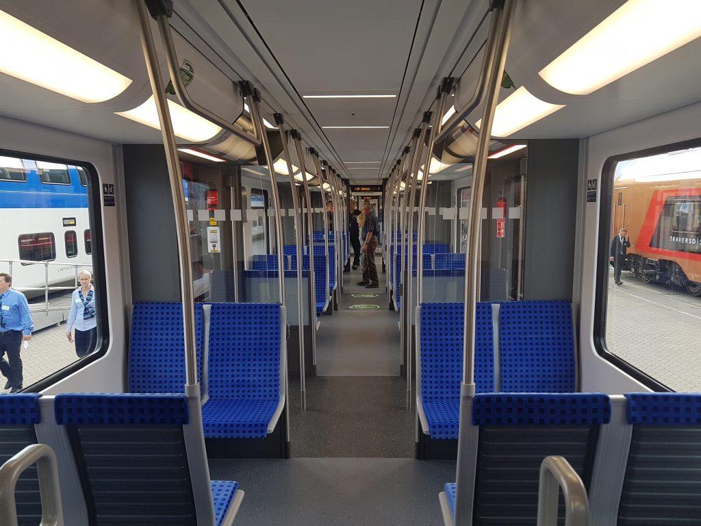 Innenraum S-Bahn Berlin