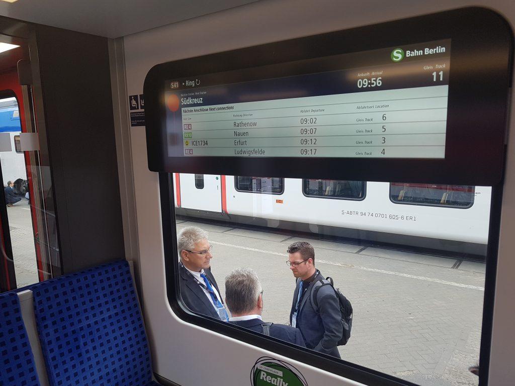 Echtzeit-Fahrgastinformation Berliner S-Bahn