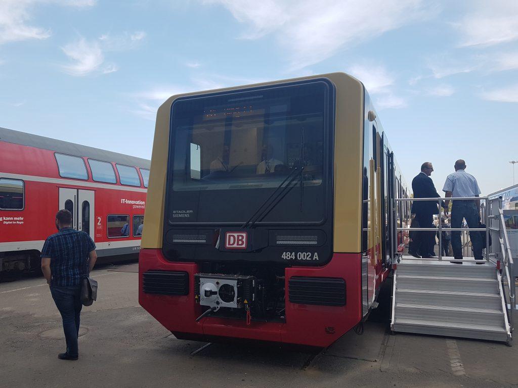 Frontansicht Berliner S-Bahn